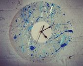 Beautiful clock by Bamboozlecreative on Etsy