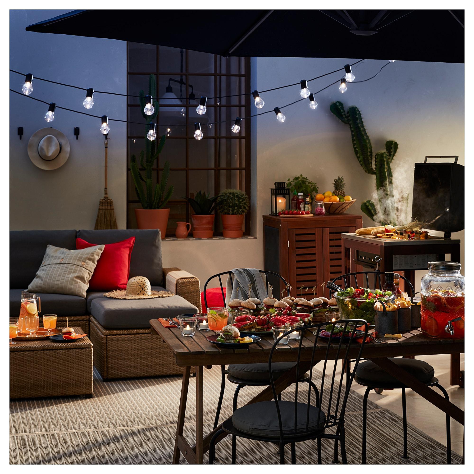 SOLLERÖN Modular corner sofa 4seat, outdoor with