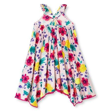52fab85eb4222d Toddler Girls' Floral Maxi Pink 6X - Cherokee® : Target   Brielle ...