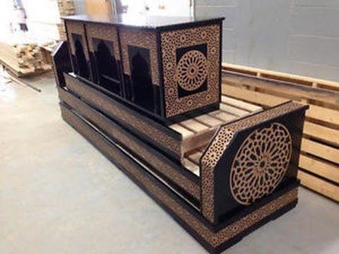 أشكال جديدة من السدادر الخشبية المنقوشة Salon Marocain 2017 Moroccan Home Decor Luxury Bedroom Design Home Decor