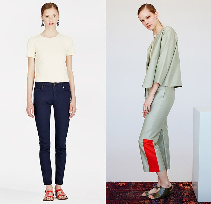 Trademark 2014 Summer Womens Collection Looks Denim Jeans