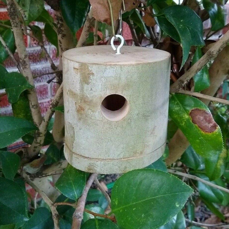 Hand Made Hummingbird Bird House Real Bird House From