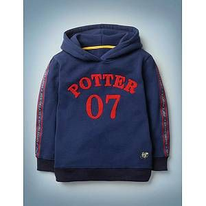 Potter Hoodie - College Blue | Boden UK
