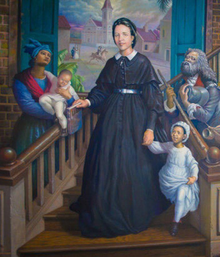 Venerable Henriette Delille was an Creole nun who founded