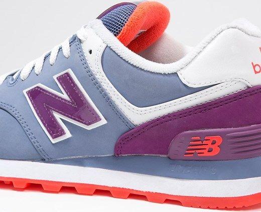 New Balance WL574 Zapatillas azul/lila/orange www-zalando-es Otoño ...