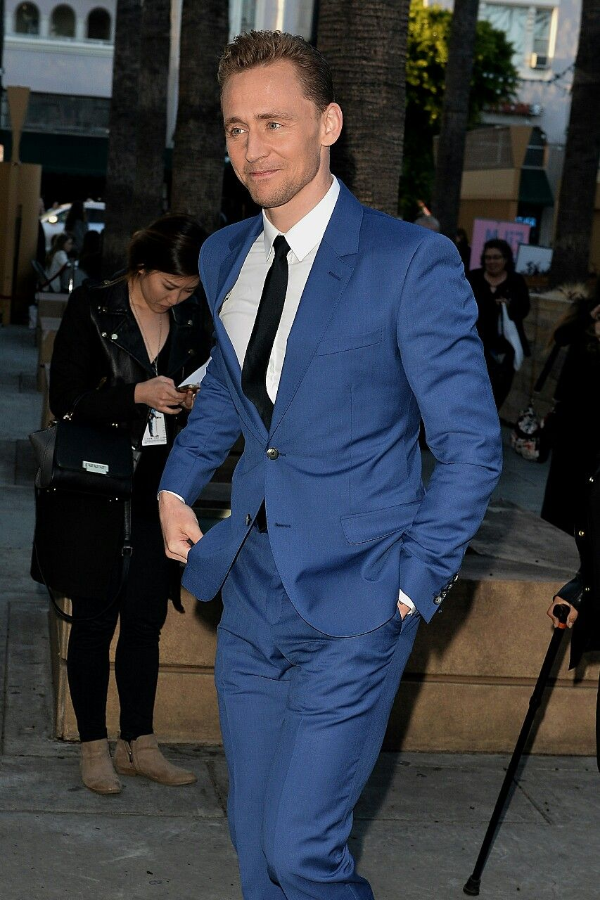 Tom Hiddleston arrives to the Egyptian Theatre for the premiere of Sony Pictures Classics' I SAW THE LIGHT on March 22, 2016