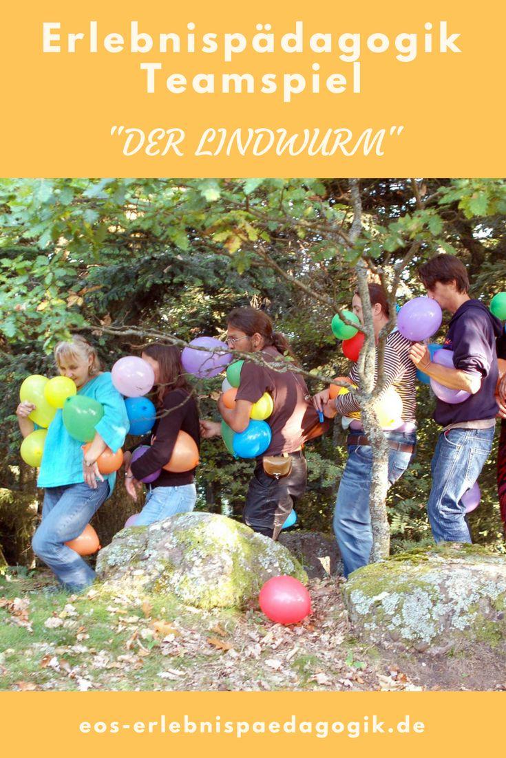 Photo of Teamspiel – Der Lindwurm