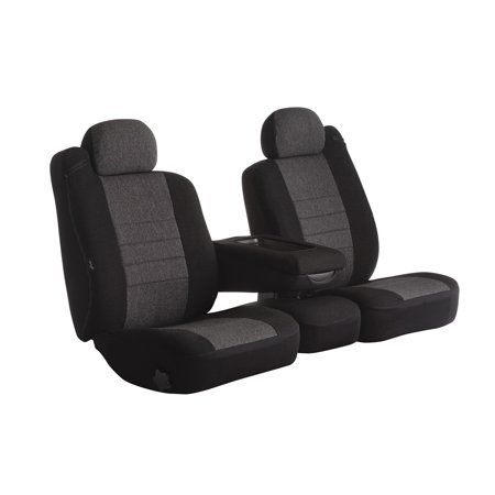 Fia Inc Oe33 2 Charc Fiaoe33 2 Charc Oe Seat Cover Charcoal Universal Car High Back Buckets Custom Fit Seat Covers Custom Seat Covers Leather Car Seat Covers