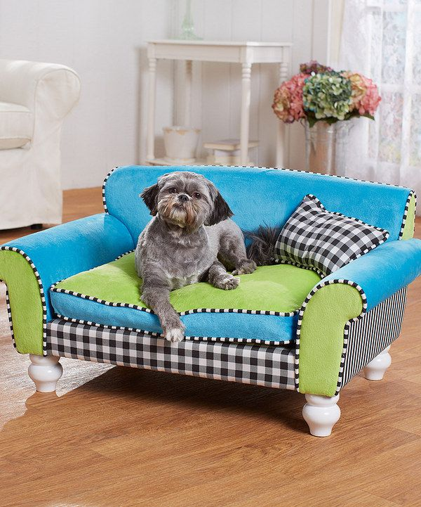 enchanted home mackenzie pet sofa argos 2 seater brown leather look at this turquoise black bed on zulily today