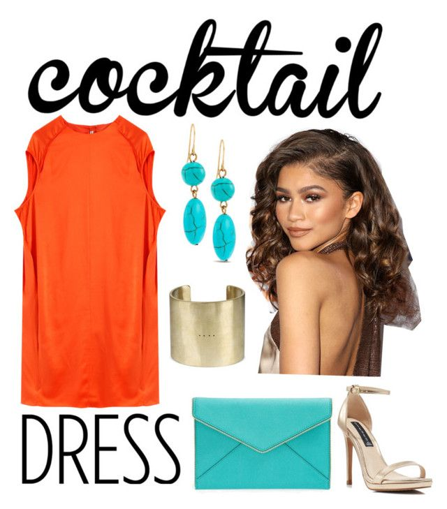 """""""Cocktail Dress"""" by monica-khrucell ❤ liked on Polyvore featuring Acne Studios, Chico's, Rebecca Minkoff, Parts of Four, Steven by Steve Madden and cocktaildress"""