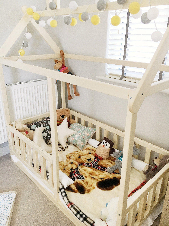 Bed Voor Kind.Peuter Huis Persoonsbed En Kinderen Bed Montessori Bed