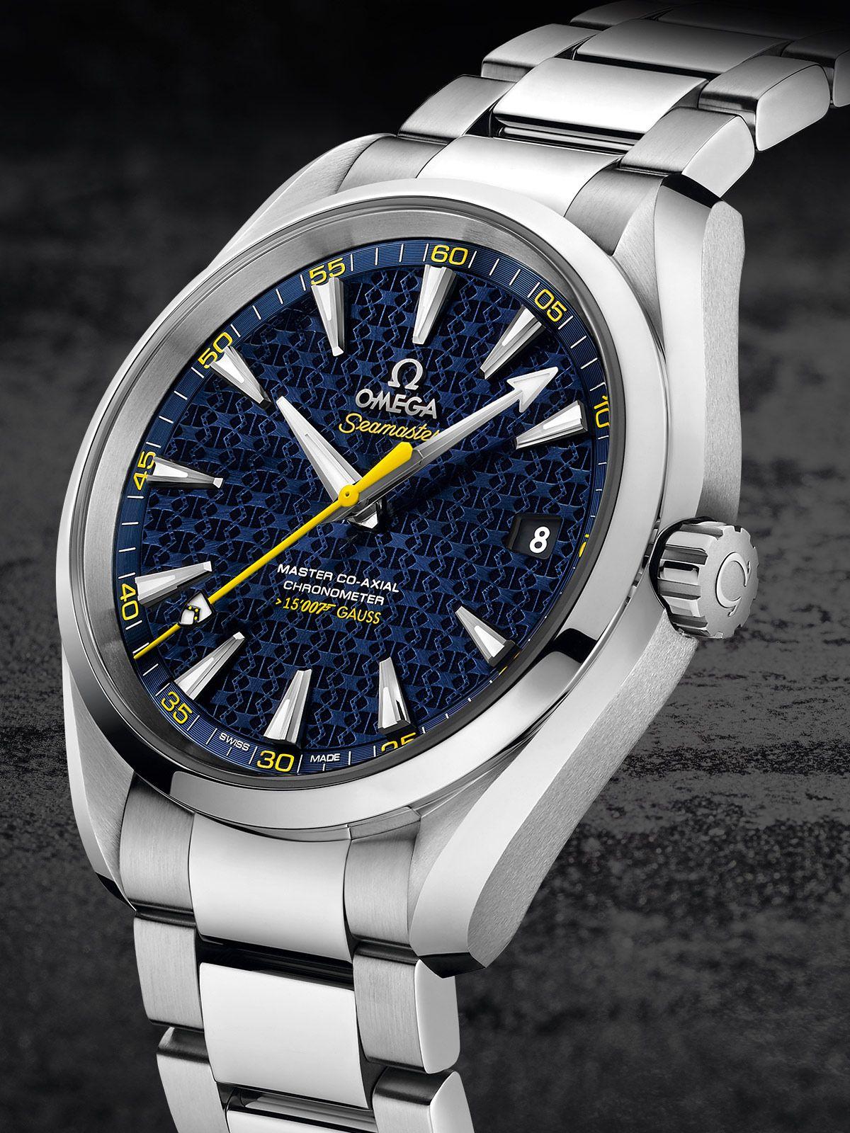 fa3874a275c OMEGA Watches  Seamaster Aqua Terra 150M James Bond Limited Edition ...