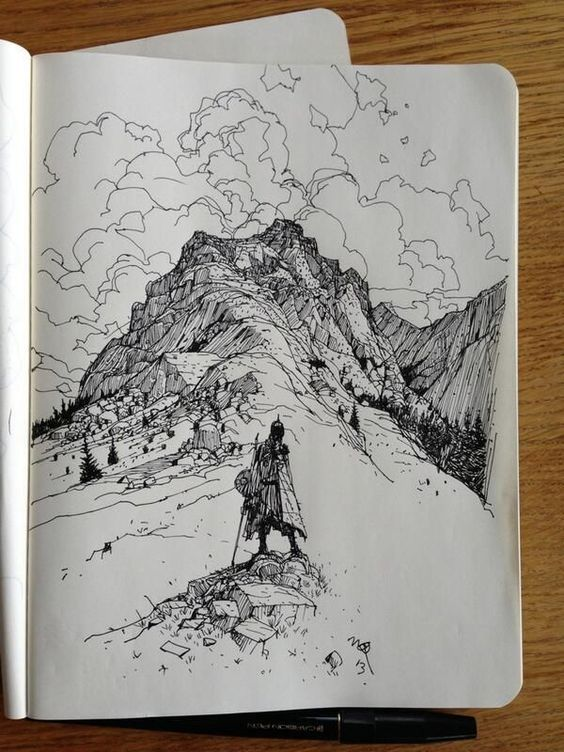 111 Drawing Ideas|Cool Things to Draw For An Adventurer`s Heart