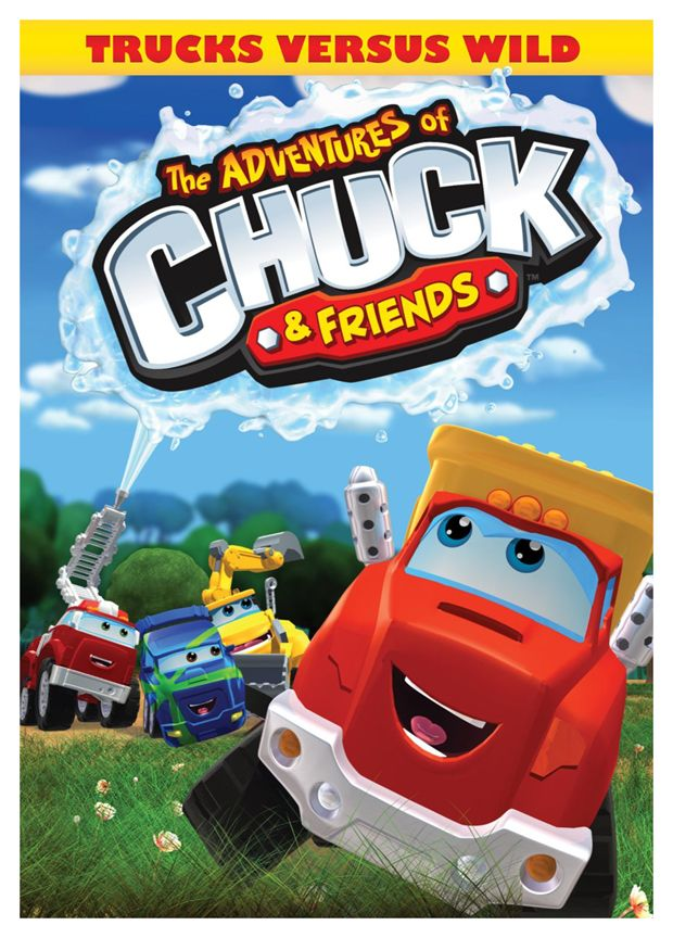 "Mommy's Favorite Things: ""The Adventures of Chuck & Friends: Trucks Versus Wild"" Review & Giveaway"