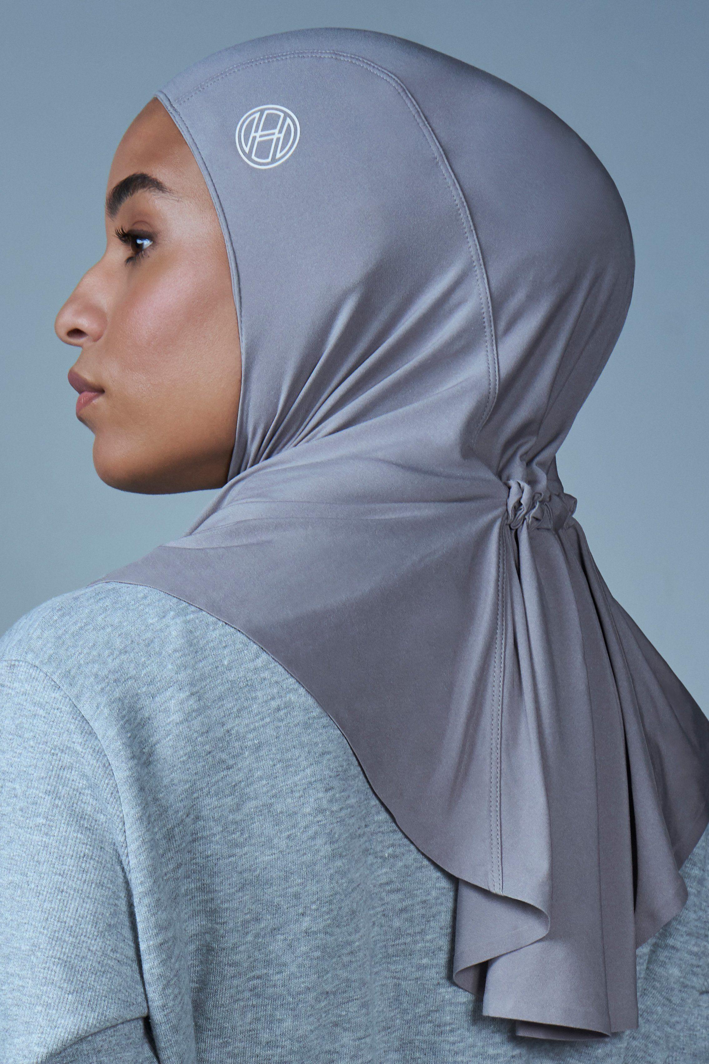 Flexfit Sport Hijab Smoke Size 1 Smoke In 2021 Sports Hijab Flexfit Hijab