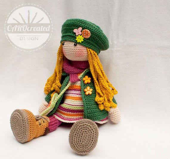 Hook and Stitch Crafts: Ida Pattern (basic female doll) | 534x570