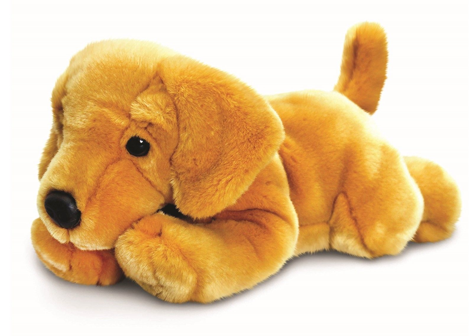 Keel Toys Signature Puppies 35cm Golden Labrador Dog Cuddly Soft
