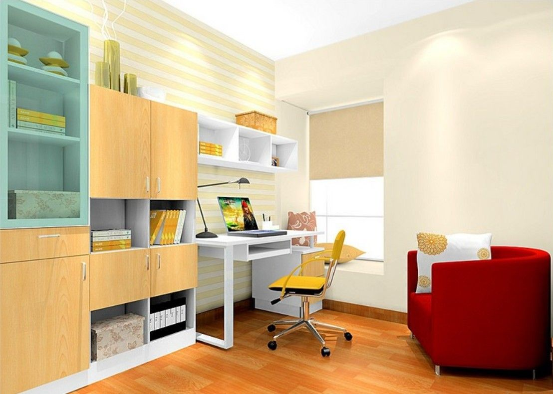 Attractive Modern Interior Design Ideas Kids Study Room