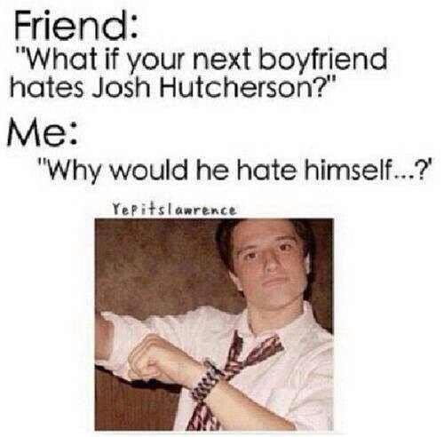 yeah y would he?