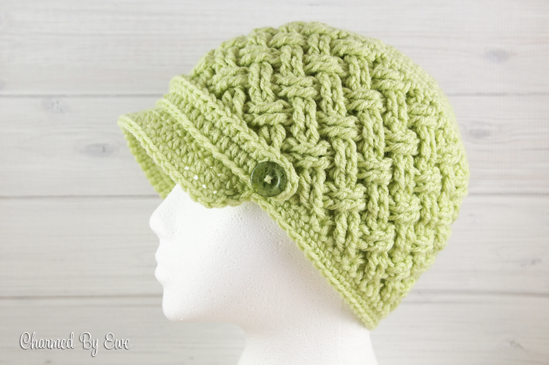 Free Celtic Dream Newsboy Hat Crochet Pattern | Häkeln | Pinterest ...