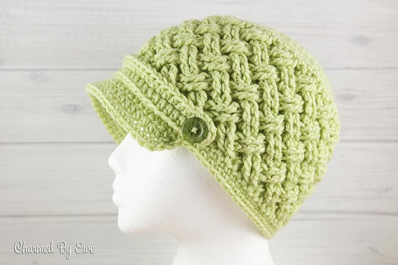 Free Celtic Dream Newsboy Hat Crochet Pattern | Loom Knit ...