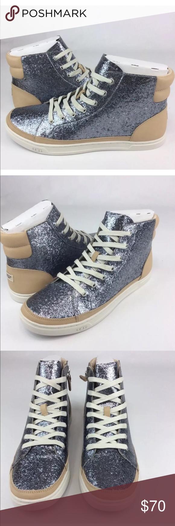 9718b883115 UGG Gradie Glitter Womens Fashion High Top Sneaker UGG Gradie ...