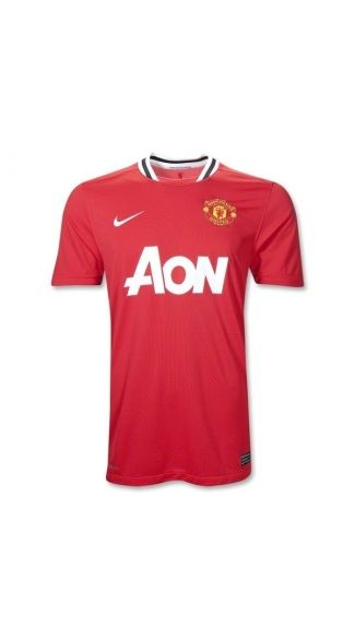 Nike 11/12 Manchester United Home Soccer Jersey