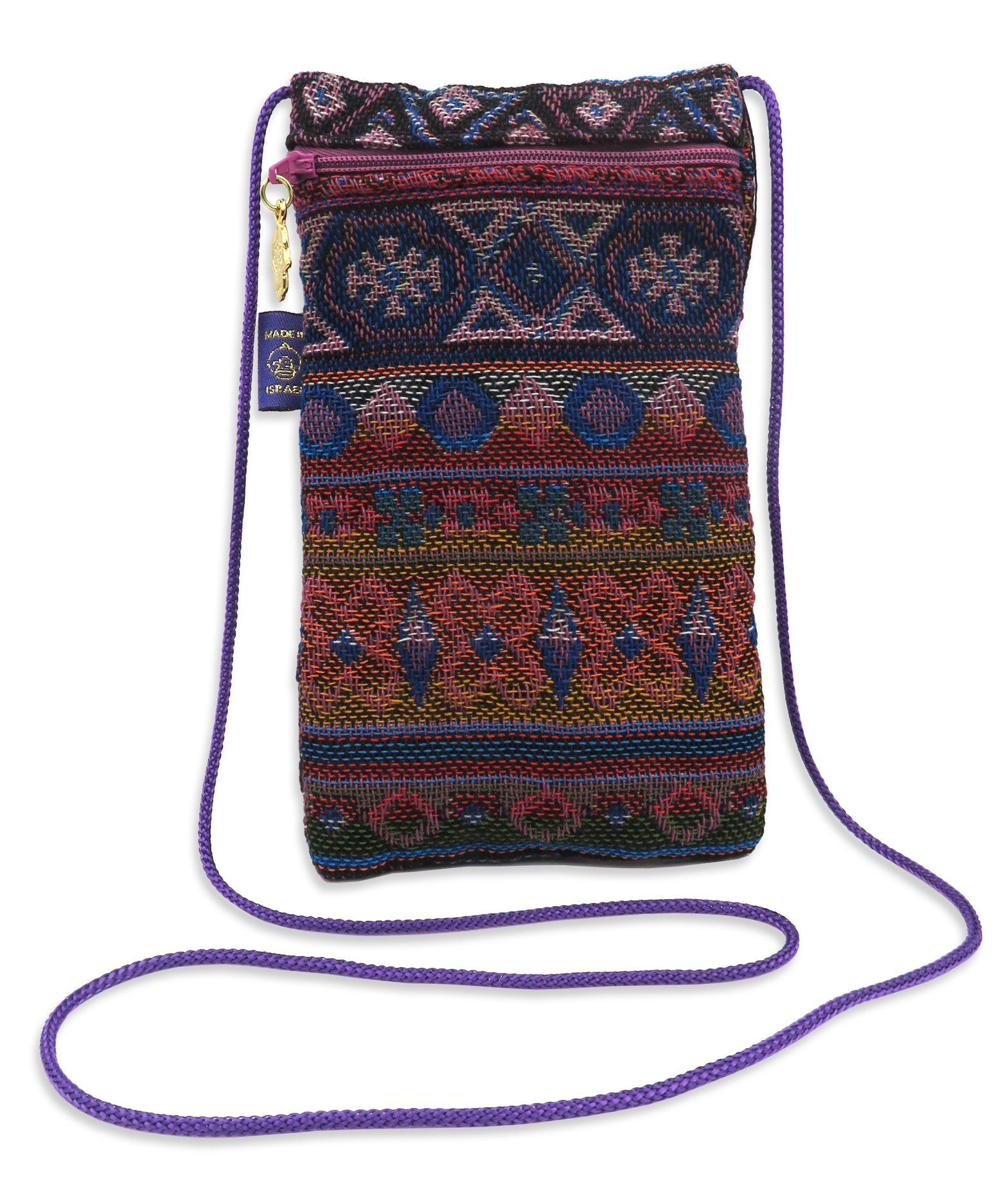 Purple Drawstring Glasses Pouch Case Colourful Spectacle Pocket Sunglasses Phone Wallet