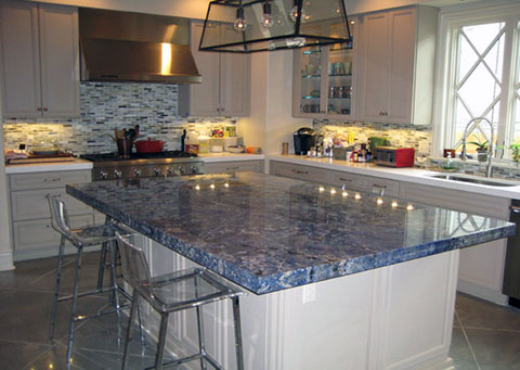 Attractive Blue Bahia Granite. Love This Stone? We Can Put This In Your Home Today