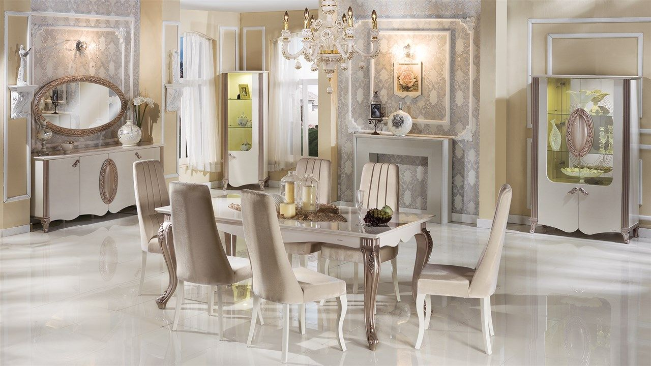 Great Golden Dining Room   Bellona Furniture