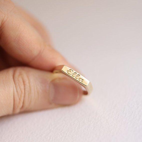 Name Ring, Initial Ring, Monogram Ring, Personaliz