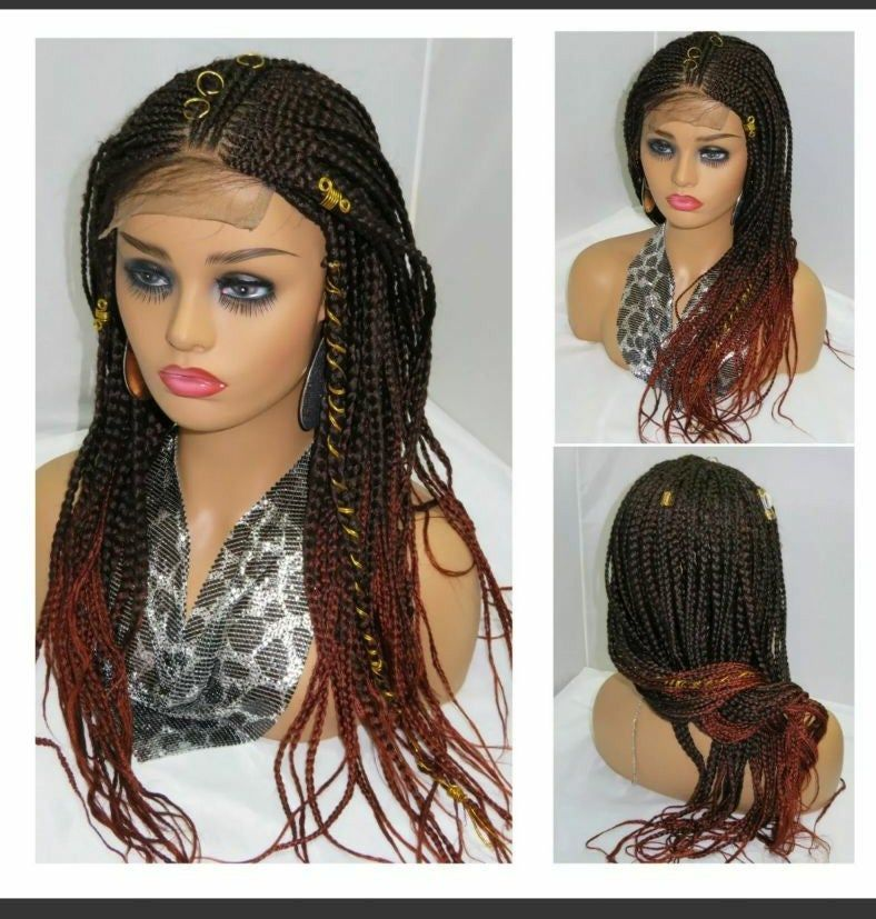 150 Awesome African American Braided Hairstyles #boxbraidshairstyles # fulani Braids with yarn