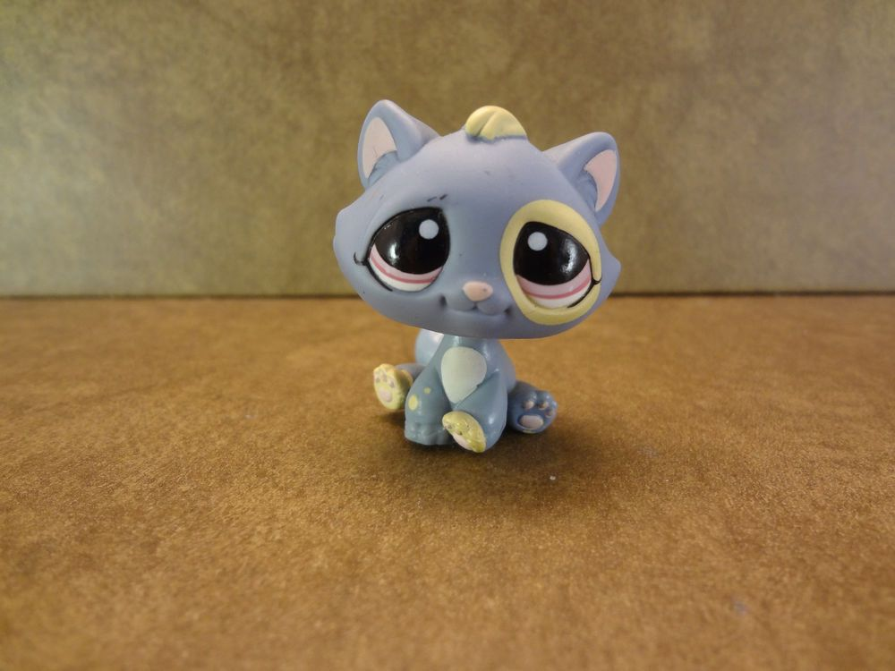 Boston Terrier #1025 OOP Out of Package /& Print Retired Blue, Purple Eyes - Littlest Pet Shop LPS Collectible Replacement Single Figure Collector Toy Loose