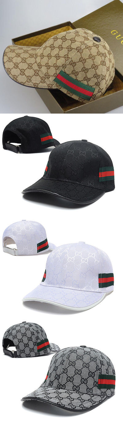 1df0d3b01b6430 Hats 45230  New Authentic Gucci Mens Women Hats Baseball Cap Golf  Multi-Color -  BUY IT NOW ONLY   85.31 on eBay!