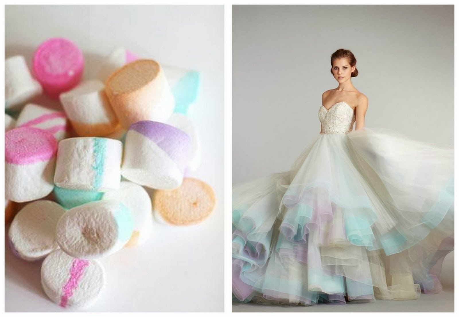 Watercolour-Theme-Ombre-Pastel-Wedding-Inspiration | Dresses ...