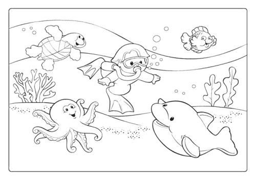 Summer Coloring Pages Printable | Kids Coloring Pages | Pinterest ...