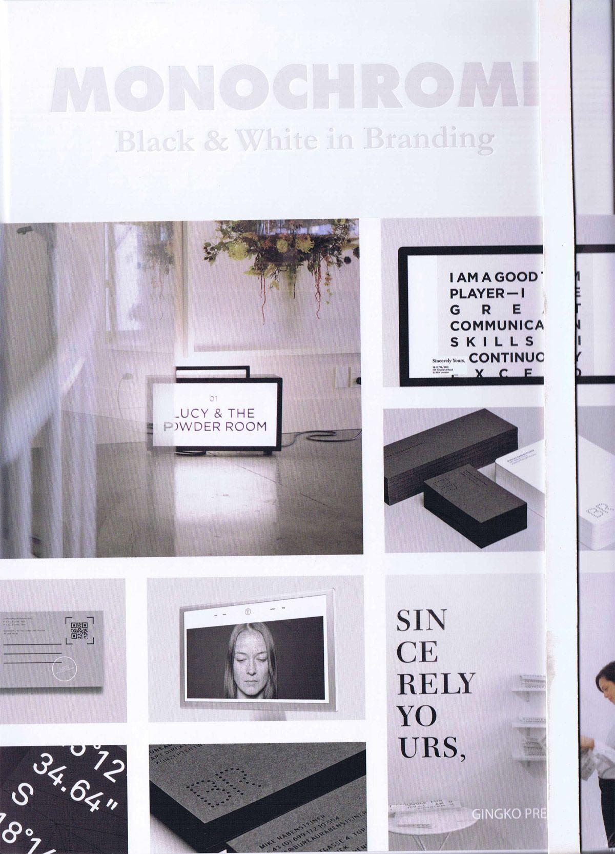 Monochrome - Black & White in Branding bog fra Viking og Creas