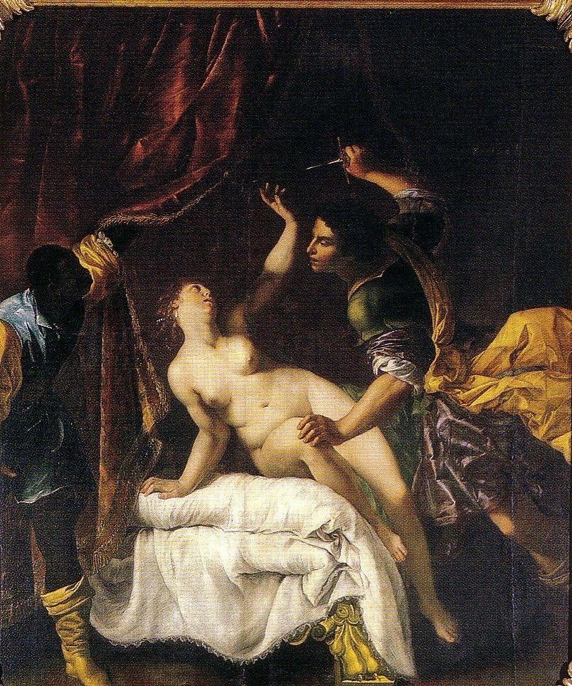 Artemisia Gentileschi - The Rape of Lucrezia