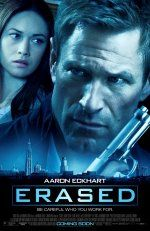 Erased movie poster