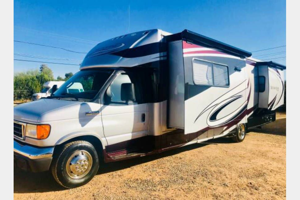 2007 jayco melbourne 29d high end class c with 3 slides