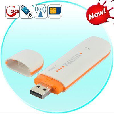3G Internet for Laptops 3G USB Modem HSUPA