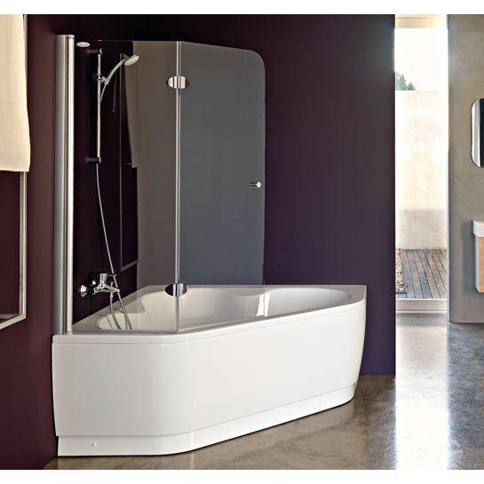 Vasca angolare con sportello bathroom pinterest - Vasca bagno con sportello ...