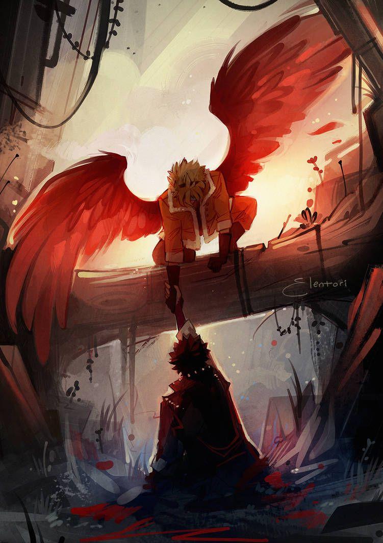 Pin by kelseydragon17 on winged people hero academia