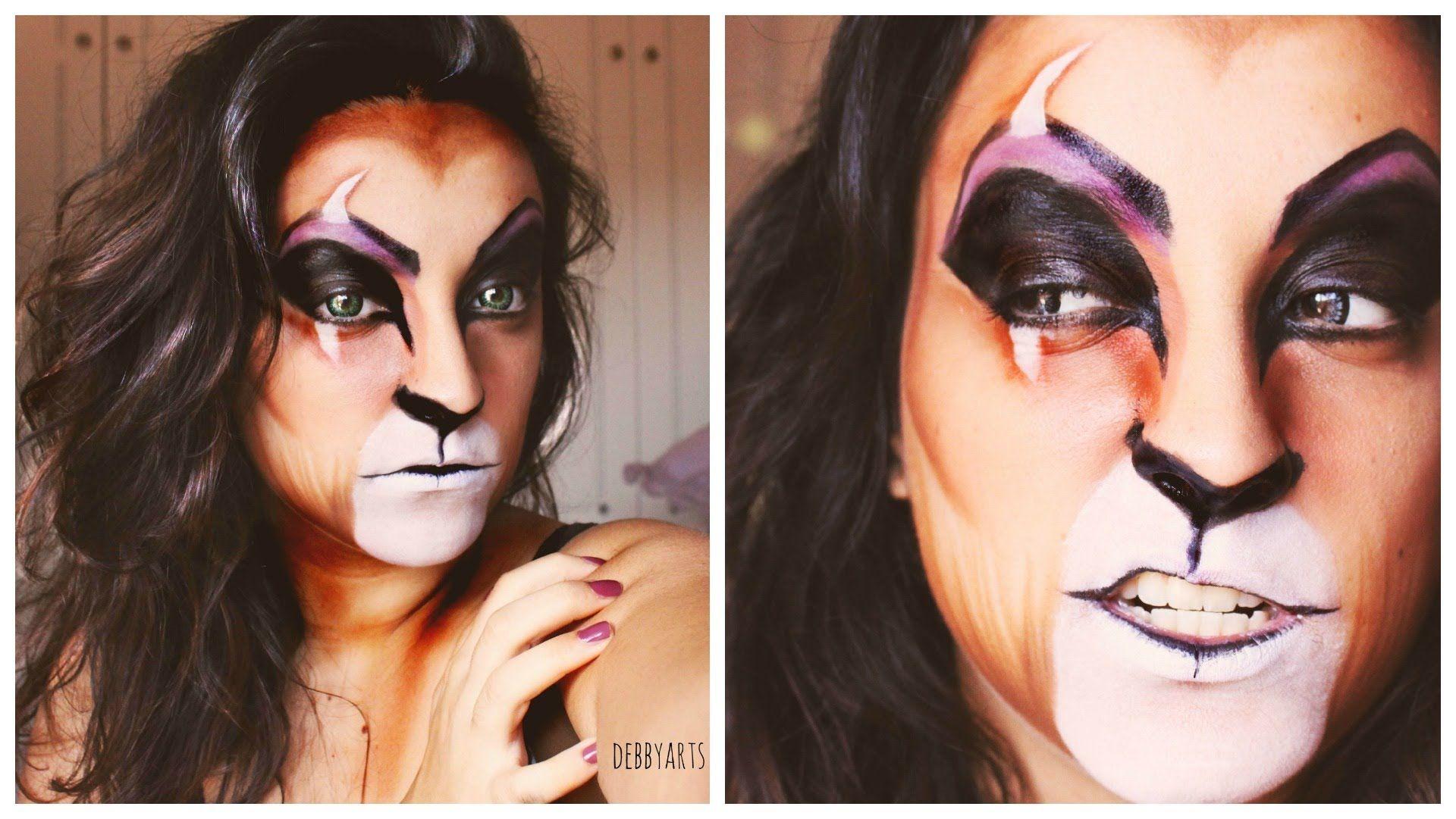 Disney's The Lion King (Scar) Inspired Makeup Disney