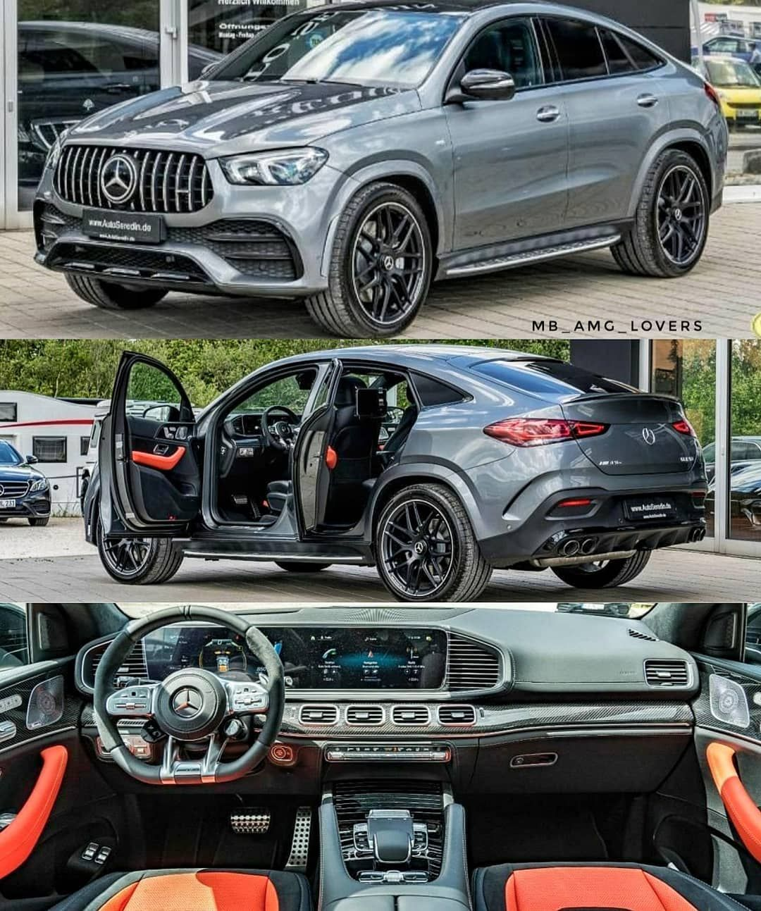 "Photo of Mercedes Benz //AMG Lovers 💙 on Instagram: ""PERFECT 😍😍😍 Wouldn't mind owning such a beast in very cool specs in and out💣 AMG GLE53 Coupe at @autoseredingermany"""