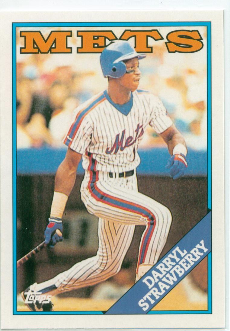 Darryl Strawberry Darryl Strawberry New York Mets Baseball Cards For Sale
