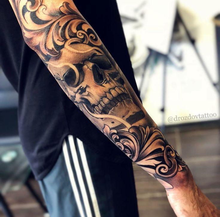 Arm männer tattoos Tattoo Arm