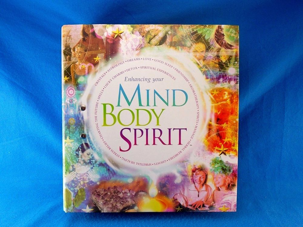 Enhancing Your Mind Body Spirit Ringbound 130 Cards 23 Posters Incomplete 2003