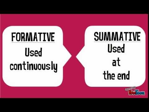 You Have To Begin To Weigh Formative Versus Summative Assessment