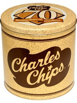 I found a site to order Charles Chips in the 16oz Tin - I buying them for presents & one for myself - http://www.vermontcountrystore.com/store/jump/productDetail/Food_&_Candy/Pantry_&_Canned_Goods/Breads,_Crackers_&_Snacks/Charles_Chips/63070